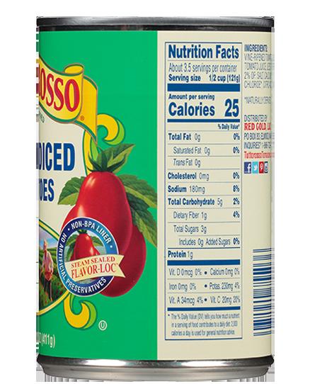 Petite Diced Tomatoes 14.5 oz   Tuttorosso Tomatoes