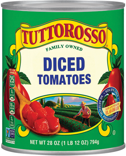 Tuttorosso Diced Tomatoes 28 ounce