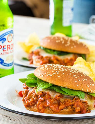 Italian Sloppy Joe's