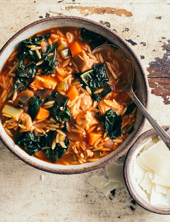 Chicken Florentine Soup with Kale