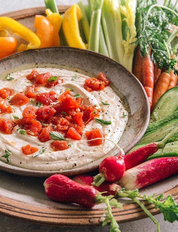 Tuttorosso Tuscan Hummus