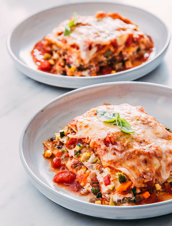 Tuttorosso Tomatoes Lasagna Primavera