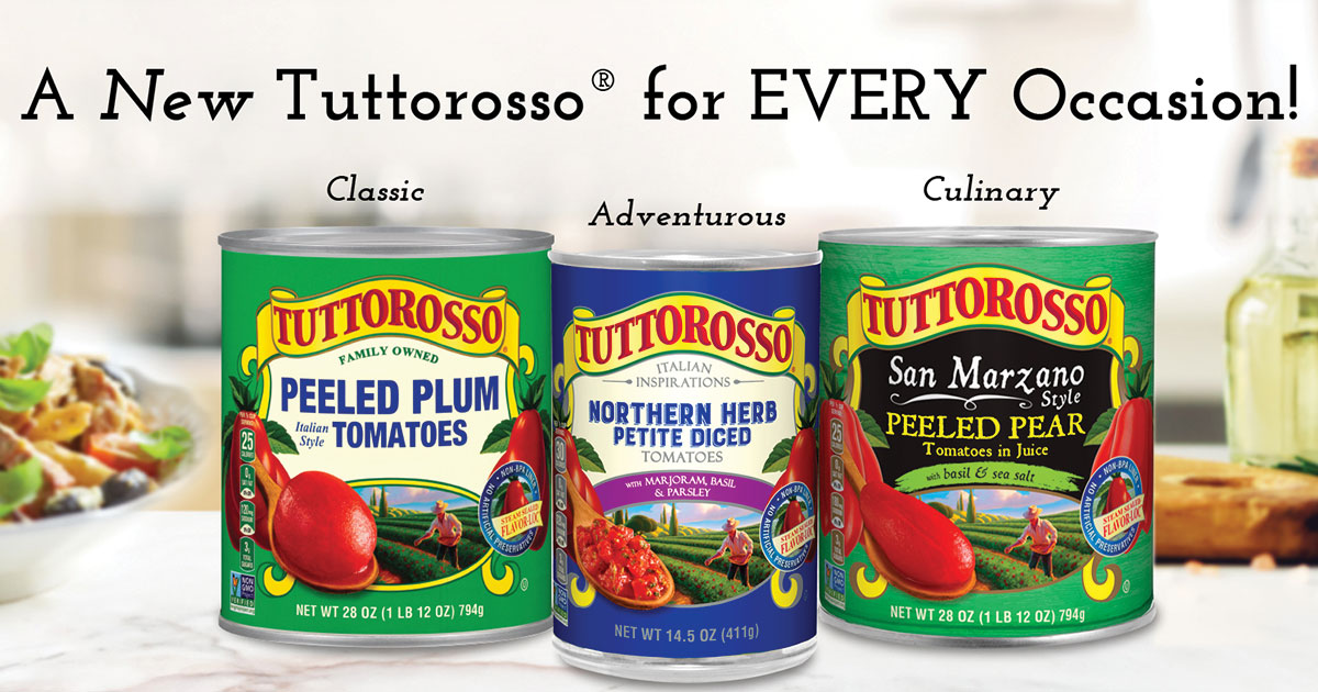 Tuttorosso Tomato for Every Occassion